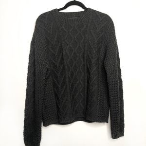 BANANA REPUBLIC Cabled Wool Sweater